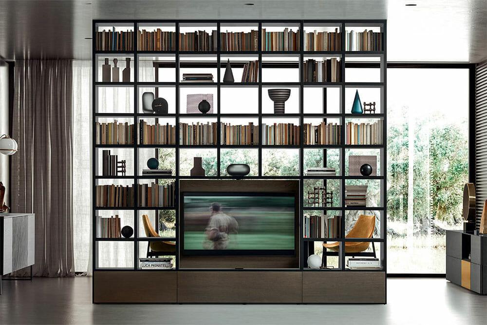 libreria-soggiorno-pianca